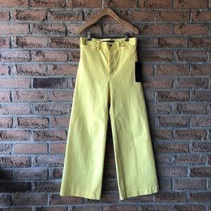 VERONICA BEARD | Yellow high rise gaucho p…